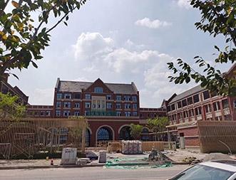 哈罗国际学校(铝单板、铝方通)